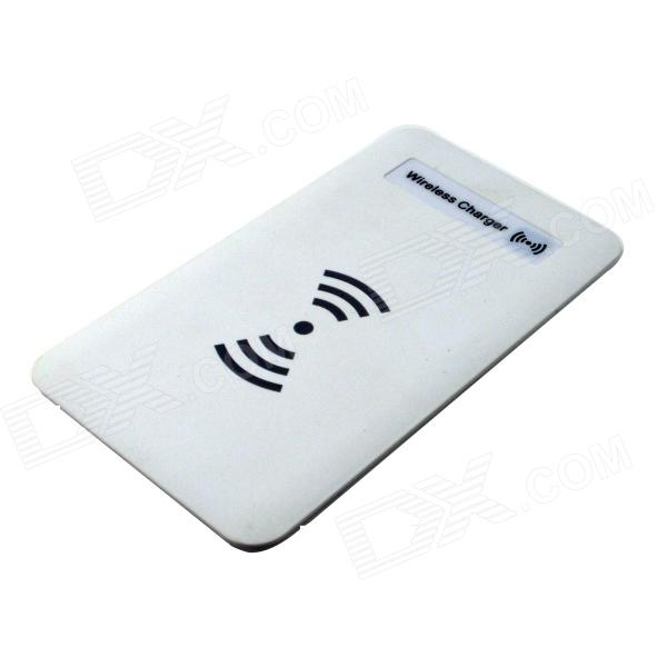 T1501 Qi Standard Mobile Wireless Power Charger - White
