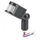 LED Floodlight PIR Motion Sensor - Black (AC85~260V)