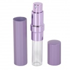 Material Plástico Perfume del aerosol Botella Portable - Purple Light + White (20 ml)