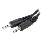 Universal 3.5mm Male to Male Audio Cable for PC / Speaker - Black (300cm)