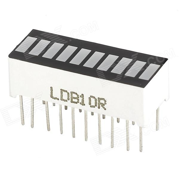 0.3 Red Light 10-Section LED Audio Power Display Module for Arduino