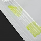 WB-1283 Household Vacuum Compression Storage Bag w/ Air Pump - White + Light Green