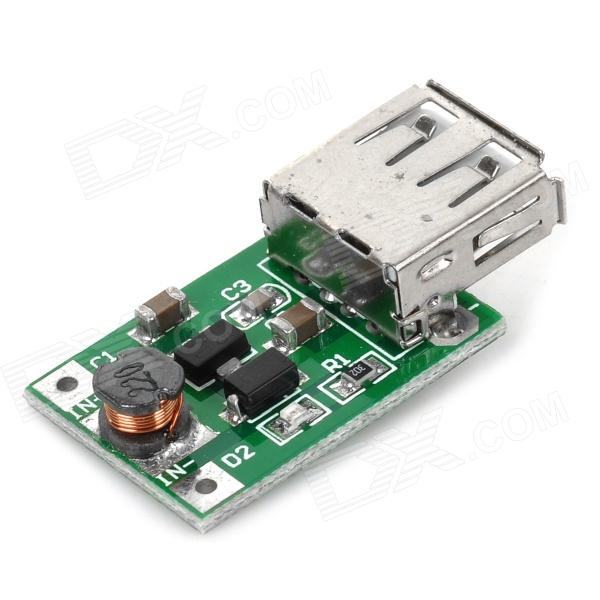 Navo DC 1~5V USB Output Voltage Boost Regulator Module - Green