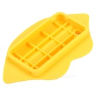 3D Sexy Lip Style Silicone Back Case for Iphone 4 / 4S - Yellow