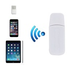 Universal USB Connector Bluetooth V2.1 + EDR Receiver w/ A2DP + Handsfree Call - White