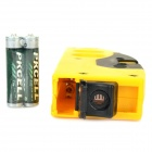 TD9B Portable 650nm Red Laser Level w/ Tripod - Yellow (2 x AAA)