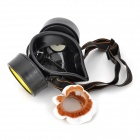 Activated Carbon Double Chemical Gas Respirator Dust Filter - Black