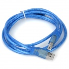 USB 2.0 A Male to B Male Printer Cable - Deep Blue (150cm)