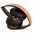 KG-5012 KG-5012 Multifunctional Folding Bluetooth V3.0 Headset w/ Microphone / TF / FM - Golden