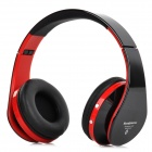 KG-5012 KG-5012 Multifunctional Folding Bluetooth V3.0 Headset w/ Microphone / TF / FM - Black + Red