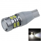 T15 / T13 / 921 5W 300lm 8 x SMD 5630 LED + 1-Cree White Car Clearance lamp / Side Light - (9~18V)