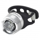 UltraFire XP-01 LED 10lm 3-Mode White Bike Front Light - Black + Antique Silver (2 x CR2032)