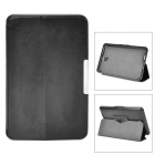 Protective PU Leather Case w/ Auto Sleep for Asus ME371MG - Black