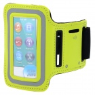 Sports Gym Neoprene Armband Case for IPOD Nano 7 - Green + Black