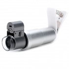 200X Magnification Microscope w/ Clip for Samsung / Iphone / Sony / HTC & Tablet PC - Grey