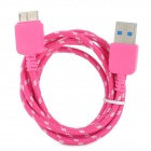 USB 3.0 Male to Micro 9-Pin High Speed Nylon Charging Data Cable for Samsung Galaxy Note 3 (100cm)