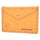 "SAMDI Retro Envelope Style Protective Bag Case for 15"" MacBook Pro - Brown"