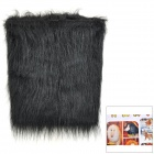 Artificial Hair Winter Pet's Dog Warm Scarf for Rottweiler / Doberman - Black (Size M)