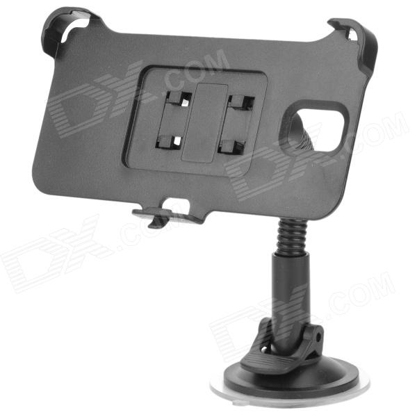 Convenient Car Mounted 360' Rotating ABS Holder for Samsung NOTE 3 N9006 - Black