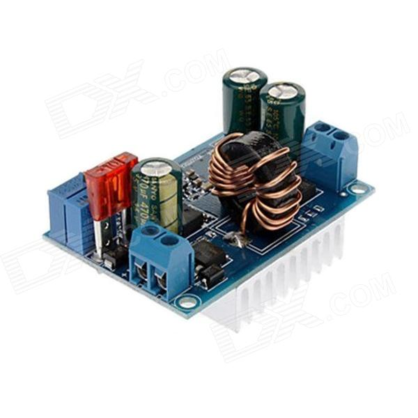 Jtron DC 5~32V to 1.25~20V Boost Buck Module w/ Quiescent Current 4mA - Blue jtron dc dc 4 32v to 0 8 32v automatic buck boost converter module red