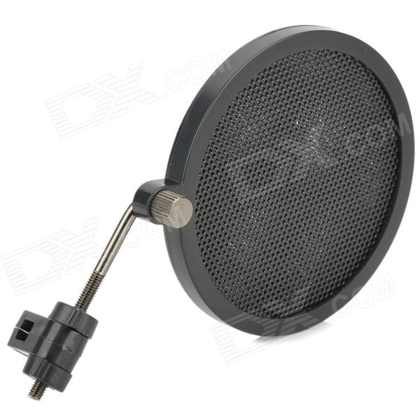 все цены на PS-2 Double Layer Professional Microphone Plastic Pop Filter - Black