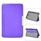 Protective PU Leather + PC Case w/ Auto Sleep for Asus ME371MG - Purple
