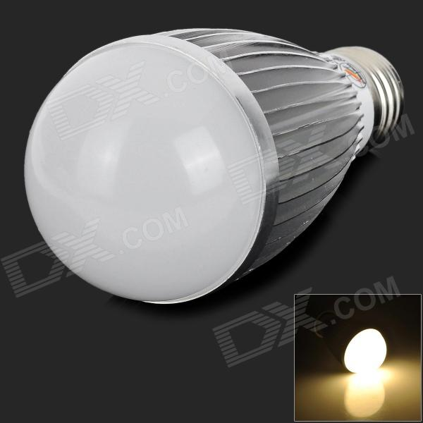 ZHISHUNJIA DB-CE718-9W E27 9W 540lm 3000K 18-5630 LED Warm White Light Bulb - Silver + WhiteE27<br>Form  ColorWhite + Silver Grey + Multi-ColoredColor BINWarm WhiteBrandZHISHUNJIAModelDB-CE718-9WMaterialAluminium + PCQuantity1 DX.PCM.Model.AttributeModel.UnitPower9WRated VoltageAC 85-265 DX.PCM.Model.AttributeModel.UnitConnector TypeE27Chip BrandOthersEmitter TypeOthers,5630Total Emitters18Theoretical Lumens630 DX.PCM.Model.AttributeModel.UnitActual Lumens540 DX.PCM.Model.AttributeModel.UnitColor Temperature3000K DX.PCM.Model.AttributeModel.UnitDimmableNoBeam Angle360 DX.PCM.Model.AttributeModel.UnitOther FeaturesSuitable for warehouse, lobby, courtyardPacking List1 x LED bulb<br>