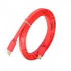 ULT-unite 4012-1402 HDMI v1.4 Male to Male Flat Cable - Red (1.5m)