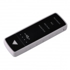 LYB-USB801-8G-BAISE Rechargeable High-Definition Recorder + MP3 Player - Black + White (8GB)