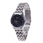 Haibo 6357 Fashionable Men's Automatic Wrist Watch - Silver + Black