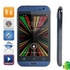 "WOOL w11 MTK6572 Dual-core Android 4.2.2 WCDMA Bar Phone w/ 4.0"" Screen, Wi-Fi, FM and GPS - Blue"