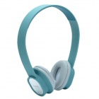 HAVIT HV-H2081D 3.5mm Iterface Detachable Fashionable Headphone w/ Mirror - Blue-Green + Silver
