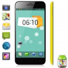 "TIMMY E82 MTK6582 Quad-Core Android 4.2 WCDMA Bar Phone w/ 5.0"", HD, 1GB RAM - Black + Yellow"