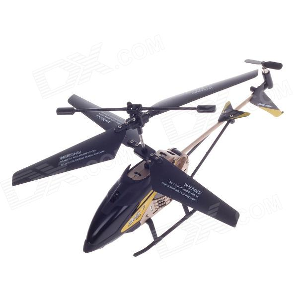 XINLIN SHIYE X123 3.5-CH R/C Infrared Control Helicopter - Black + Yellow