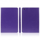 Enkay ENK-3342 PU-Leder-Kasten-Stand w / Auto-Sleep-Cover / Card Slot für Retina iPad Mini - Purple