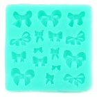 DIY Decorative Bow Style Fondant Cake Silicone Module - Green