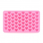 DIY Slicone Small Heart Shape Cake Ice Chocolate Tray Mould - Pink