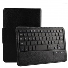 Detachable Bluetooth V3.0 59-Key Keyboard w/ PU Leather Case for New Kindle fire HD 7 - Black