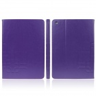 ENKAY ENK-3144 Protective PU Leather Case Stand w/ Card Slot / Auto Sleep for iPad Air - Purple