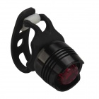 SingFire S00BR6 1-LED 3-Mode Red Safety Rear Light - Black (2*CR2032)