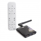 ESER-Q9 2-in-1 Mini Dual Core Android4.2 HD TV Network Player + 3D Remote Controller - Black + White