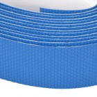 NUCKILY RI02 DIY Carbon Fiber Anti-Slip Bike Handlebar Grip Tying Bands - Blue (2 PCS)