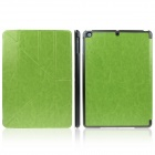 ENKAY ENK-3146 Protective PU Leather Case Stand w/ Auto-Sleep Cover for Ipad AIR - Grass Green