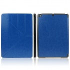 ENKAY ENK-3146 Protective PU Leather Case Stand w/ Auto-Sleep Cover for Ipad AIR - Deep Blue + Black