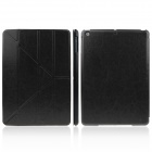 ENKAY ENK-3146 Protective PU Leather Case Stand w/ Auto-Sleep Cover for Ipad AIR - Black