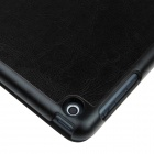 Enkay ENK - 3146 Suojaava PU Leather Case Jalusta w / Auto - Sleep suojakotelo iPad AIR - Musta