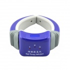 JMX2012 Acupuncture Vibrant Therapeutic Neck Massager - Deep Blue (2 x AAA / 220V / 2-Flat-Pin Plug)