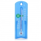 BAOYI G963 Indoor / Outdoor Acrylic Thermometer - Blue