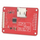 "OPENJUMPER 1.8"" TFT LCD Screen Module w/ Micro-SD Card Slot - Red (5V)"