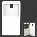 Y-1 Protective PU Leather Case w/ Display Window for Samsung Galaxy Note 3 N9006 / N9002 - White